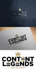 Logo & Huisstijl # 1219299 voor Rebranding van logo en huisstijl voor creatief bureau Content Legends wedstrijd