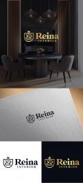 Logo & stationery # 1235471 for Logo for interior design  Reina  stam en staal  contest