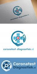 Logo & Huisstijl # 1222972 voor coronatest diagnostiek nl   logo wedstrijd