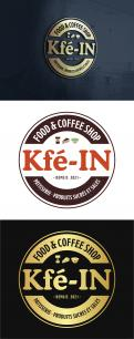 Logo & stationery # 1228293 for creation of a logo for a food   coffee shop contest