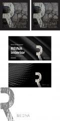 Logo & stationery # 1234266 for Logo for interior design  Reina  stam en staal  contest