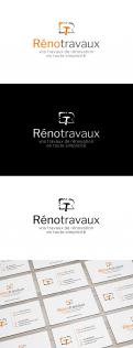 Logo & stationery # 1115618 for Renotravaux contest