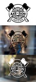 Logo & stationery # 1151758 for Create our logo and identity! We are Axe Sion! contest