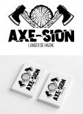 Logo & stationery # 1151703 for Create our logo and identity! We are Axe Sion! contest