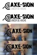 Logo & stationery # 1152205 for Create our logo and identity! We are Axe Sion! contest