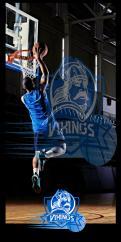 Logo & Huisstijl # 1102469 voor Basketbalclub Vikings wedstrijd