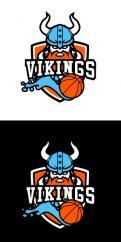 Logo & Huisstijl # 1102442 voor Basketbalclub Vikings wedstrijd