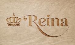 Logo & stationery # 1243953 for Logo for interior design  Reina  stam en staal  contest