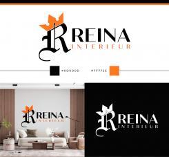 Logo & stationery # 1236510 for Logo for interior design  Reina  stam en staal  contest