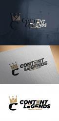Logo & Huisstijl # 1222381 voor Rebranding van logo en huisstijl voor creatief bureau Content Legends wedstrijd