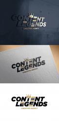 Logo & Huisstijl # 1221694 voor Rebranding van logo en huisstijl voor creatief bureau Content Legends wedstrijd
