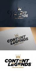 Logo & Huisstijl # 1217290 voor Rebranding van logo en huisstijl voor creatief bureau Content Legends wedstrijd