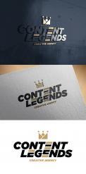 Logo & Huisstijl # 1217095 voor Rebranding van logo en huisstijl voor creatief bureau Content Legends wedstrijd
