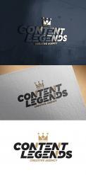 Logo & Huisstijl # 1221514 voor Rebranding van logo en huisstijl voor creatief bureau Content Legends wedstrijd