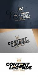 Logo & Huisstijl # 1219025 voor Rebranding van logo en huisstijl voor creatief bureau Content Legends wedstrijd