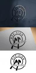 Logo & stationery # 1152540 for Create our logo and identity! We are Axe Sion! contest