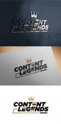 Logo & Huisstijl # 1218651 voor Rebranding van logo en huisstijl voor creatief bureau Content Legends wedstrijd