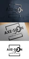 Logo & stationery # 1152248 for Create our logo and identity! We are Axe Sion! contest