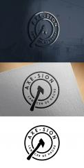 Logo & stationery # 1152353 for Create our logo and identity! We are Axe Sion! contest