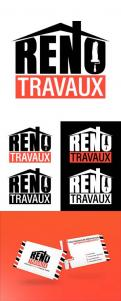 Logo & stationery # 1121620 for Renotravaux contest