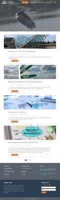 Webpagina design # 986530 voor Ontwerp een fris modern logo en webpagina voor een nieuwe blog en vlog over projectmanagement wedstrijd