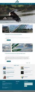 Webpagina design # 984638 voor Ontwerp een fris modern logo en webpagina voor een nieuwe blog en vlog over projectmanagement wedstrijd