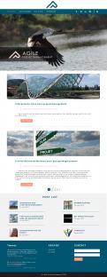 Webpagina design # 985558 voor Ontwerp een fris modern logo en webpagina voor een nieuwe blog en vlog over projectmanagement wedstrijd
