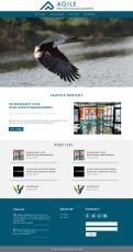 Webpagina design # 984156 voor Ontwerp een fris modern logo en webpagina voor een nieuwe blog en vlog over projectmanagement wedstrijd
