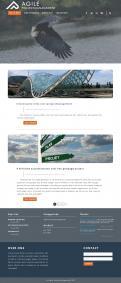 Webpagina design # 986370 voor Ontwerp een fris modern logo en webpagina voor een nieuwe blog en vlog over projectmanagement wedstrijd