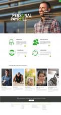 Website design # 944228 voor Redesign van bestaande website payrollorganisatie wedstrijd