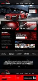 Website design # 425969 voor Website ontwerp chiptuning bedrijf wedstrijd