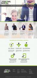 Website design # 941375 voor Redesign van bestaande website payrollorganisatie wedstrijd