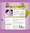 Website design # 153839 voor website voor Baroq Cakeboutique wedstrijd