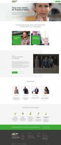 Website design # 941654 voor Redesign van bestaande website payrollorganisatie wedstrijd