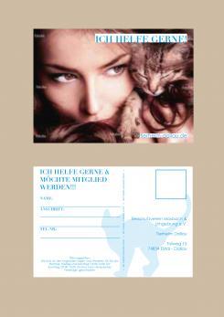 Flyer, Eintrittskarte, Einladung  # 329060 für Tierheimflyer zur werbung von neuen Mitgliedern. Wettbewerb