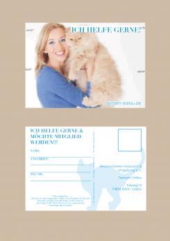 Flyer, Eintrittskarte, Einladung  # 330014 für Tierheimflyer zur werbung von neuen Mitgliedern. Wettbewerb