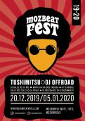 Flyer, tickets # 1013034 for MozBeat Fest 2019 2020 contest