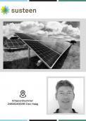 Flyer # 1013352 voor ' Gemeente  kiest voor zon' wedstrijd