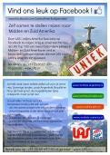 Flyer # 240944 voor Ontwerp een triggerend A6-flyer (dubbelzijdig) voor reisbureau LAS | Latijns Amerika Specialist op de 50+ beurs. wedstrijd