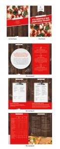 Flyer # 990355 voor De Pizza Academy flyer wedstrijd