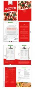 Flyer # 990637 voor De Pizza Academy flyer wedstrijd
