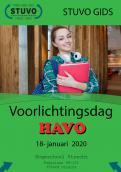 Flyer # 956367 voor Kaft voor informateboekjes middelbare scholieren wedstrijd