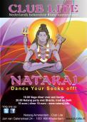 Flyer # 157474 voor Nataraj Flyer voor feesten op verschillende lokaties wedstrijd