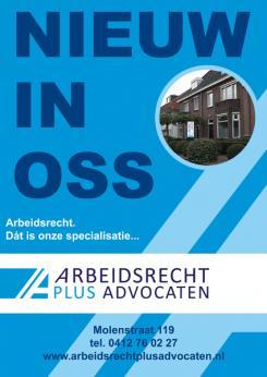 Flyer # 394629 voor (Geboorte)kaartje voor nieuw advocatenkantoor te Oss wedstrijd