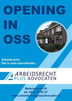 Flyer # 394631 voor (Geboorte)kaartje voor nieuw advocatenkantoor te Oss wedstrijd