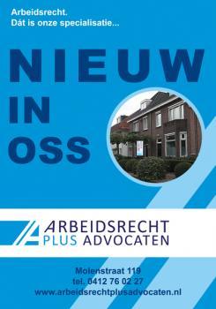 Flyer # 394633 voor (Geboorte)kaartje voor nieuw advocatenkantoor te Oss wedstrijd