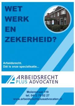 Flyer # 394140 voor (Geboorte)kaartje voor nieuw advocatenkantoor te Oss wedstrijd