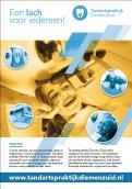 Flyer # 1065987 voor Flyer voor tandartspraktijk wedstrijd