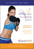 Flyer # 334736 voor promotieflyer voor startende personal trainer wedstrijd