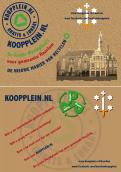 Flyer # 266592 voor Hippe flyer voor een lokale tweedehands website (Koopplein Haarlem) wedstrijd